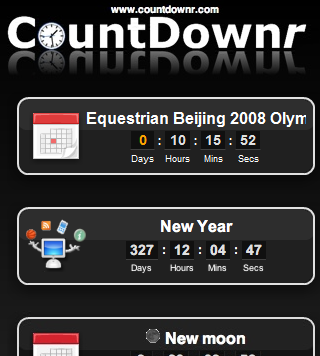 CountDownr screenshot